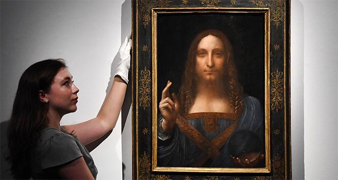 Ünlü tablo Salvator Mundi müzayedeye çıkıyor