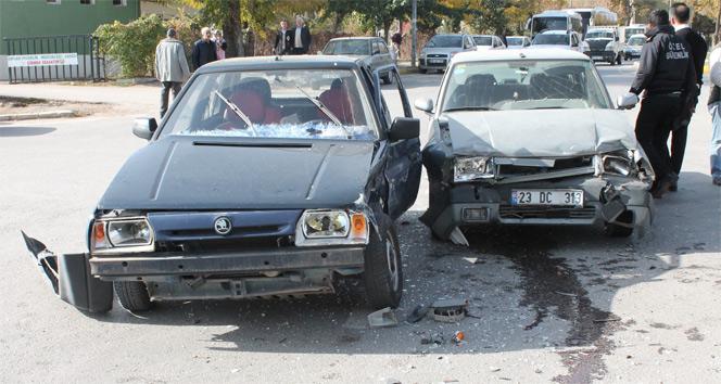 Elazığ'da trafik kazası: 5 yaralı| Elazığ haberleri