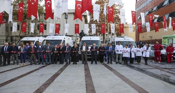 Beykoz'da yeni ambulanslar göreve hazır
