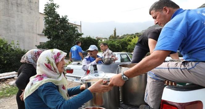 Antalya Büyükşehir afet bölgesinde