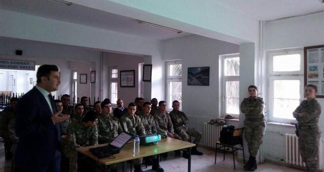 Mehmetçiğe kadına şiddet ile mücadele eğitimi