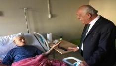 Başkan Seyfi Dingilden hastalara moral ziyareti