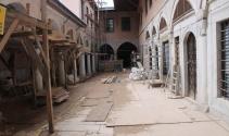 Topkapı Sarayı'ndaki tarihi ihya yakından görüntülendi