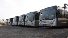 CNGli Otobüsler Düzcede
