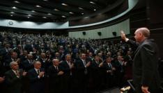 Başkan Ay, il başkanları toplantısına katıldı