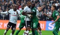 Beşiktaş - Akhisar maçından kareler