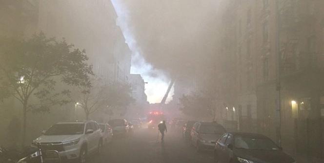 New York'ta dev yangın!