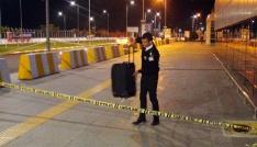 Batman Havalimanında bırakılan şüpheli valiz paniğe neden oldu