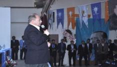 Ak Parti Pasinler İlçe Başkanlığına Hanifi Timurlenk seçildi