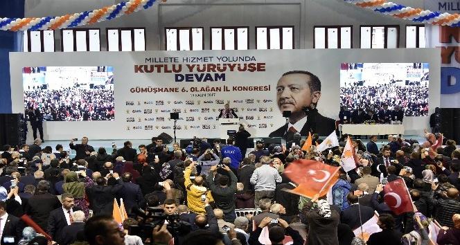 """Cumhurbaşkanı Erdoğan: """"Bugün Türkiye adımını ileri atması gereken günlerden geçmektedir"""""""