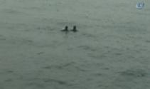 Kadıköy'de bir kişi denize düştü