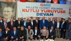 Erzurum AK Partide 4 ilçenin 6. olağan kongresi yapıldı