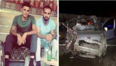 Iğdırda trafik kazası: 1 ölü, 1 yaralı