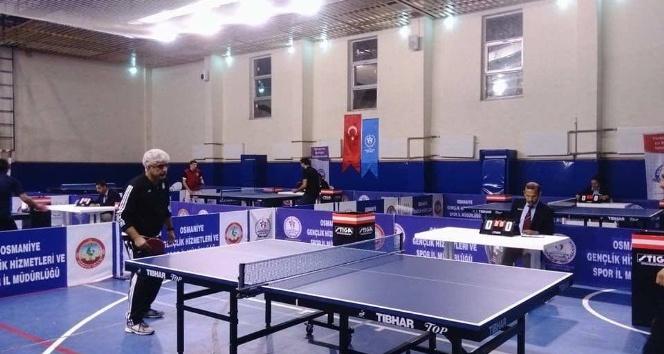 Osmaniyede Masa Tenisi Turnuvası
