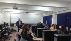 BÜde Bilişim Teknolojilerinin Etkin Kullanımı eğitimi verildi