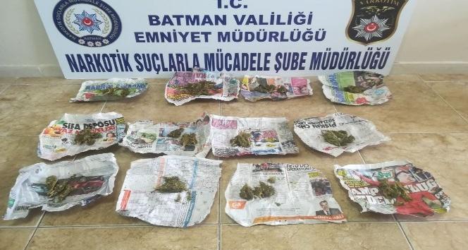 Batmanda uyuşturucu operasyonu