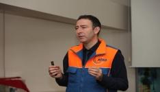 Deprem Müzesinde deprem bilinci eğitimi verildi