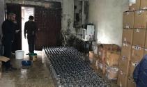 Polisten 1 milyonluk sahte içki operasyonu |İstanbul haberleri