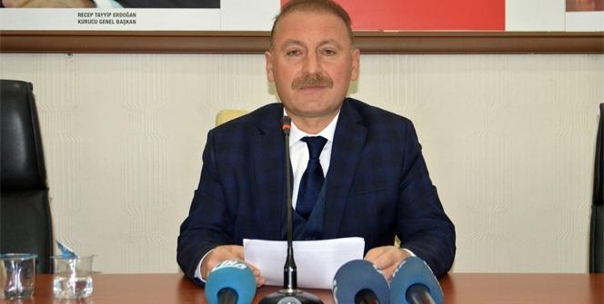 AK Parti Mardin İl Başkanı Mehmet Ali Dündar istifa etti