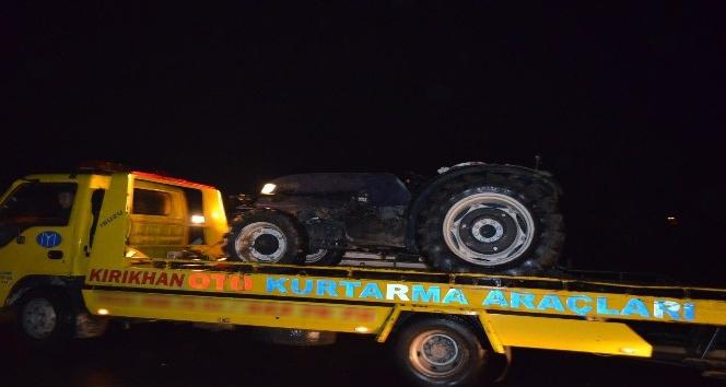 Hatayda trafik kazası: 1 ağır yaralı