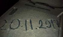 Balıkesire yılın ilk karı düştü