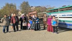 Iğdırda genç çiftçilere hayvan dağıtımı