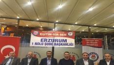 """Eğitim Bir Sen Erzurum 1 Nolu Şube Başkanı Ciyavul: """"Akademik kariyer sistemi güçlendirilmelidir"""""""