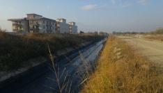 Karaali Mahallesinde 5 kilometrelik dere temizlik çalışması