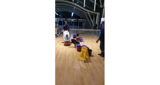 Hatay Havalimanında kovalı önlem