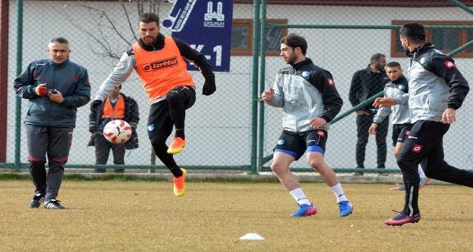B.B. Erzurumspor, Gazişehir Gaziantepsor maçı hazırlıklarını sürdürüyor