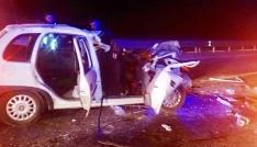 Manisada trafik kazası: 1 ölü
