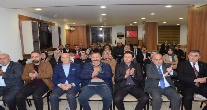 """AK Parti İlçe Başkanı Kuşçuoğlu """"2019 yılında büyük sınav bizi bekliyor"""""""