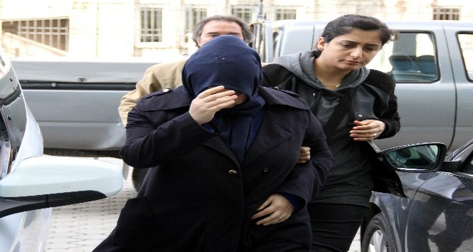 Uşak polisinin aradığı kadın Samsunda FETÖnün gaybubet evinde yakalandı