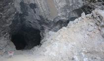 7 bin yıllık kaya tuzu mağarası Türkiyenin tuz ihtiyacını karşılıyor