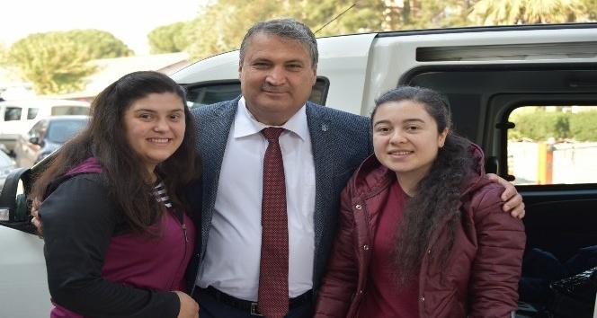 Omur iliği kırılan kızdan Başkan Çerçiye destek teşekkürü