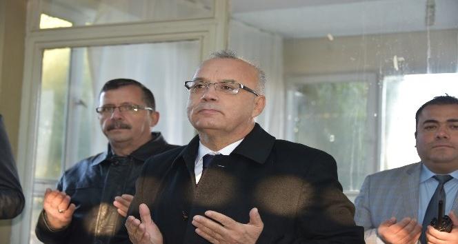 Başkan Kayda, Pazar esnafının bereket duasına katıldı