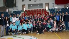 Görme Engelliler Futsal Şampiyonası İskenderunda tamamlandı