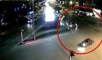 Adanada trafik kazaları MOBESEye yansıdı