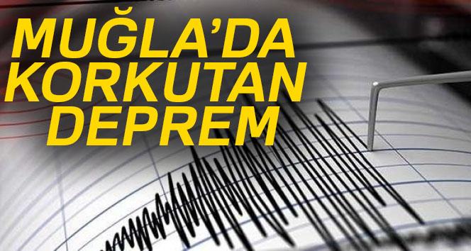Son dakika haberleri! Muğla'nın Ula ilçesinde  5.0 büyüklüğünde deprem |Son depremler
