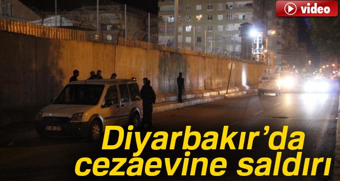 Son dakika haberleri! Diyarbakır'da cezaevine saldırı