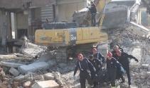 Denizli'de yıkımı yapılan çarşıda iş kazası: 1 ölü