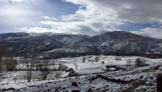 Bingöl köyleri beyaza büründü