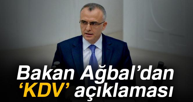 Bakan Ağbal: 'Reel ekonomiye ciddi anlamda katkı verecek'