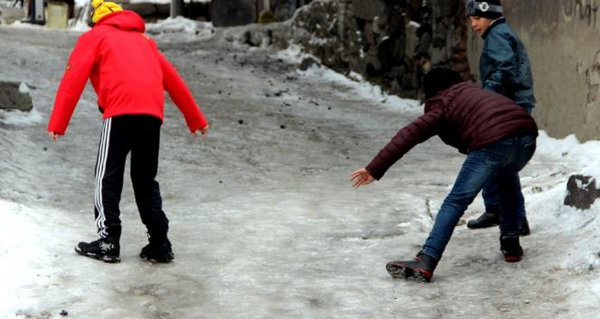 Yurttan kış manzalarıları