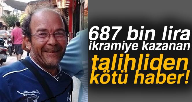 687 bin lira ikramiye kazanan şahıs intihar etti
