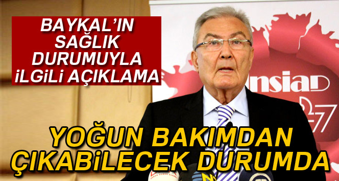 Prof. Dr. Erkan İbiş: 'Deniz Baykal yoğun bakımdan çıkabilecek durumda'