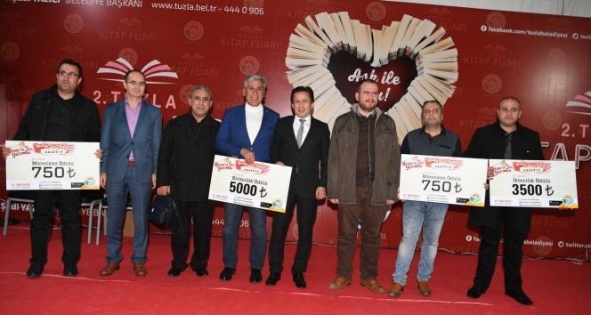 Tuzla Belediyesi 2. Ulusal Hikaye ve Şiir Yarışmasının ödülleri sahiplerini buldu