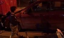 Mahalle arasında zincirleme kaza