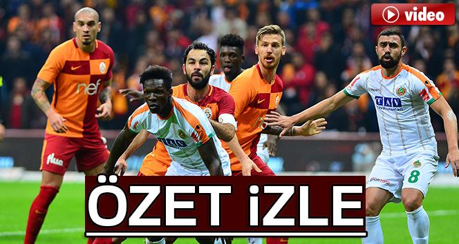 Alanyaspor Beşiktaş özeti Ve Golleri İzle: ÖZET İZLE: Galatasaray 2-0 Alanyaspor Maçı Özeti Ve