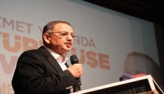 Çevre ve Şehircilik Bakanı Mehmet Özhaseki Artvinde
